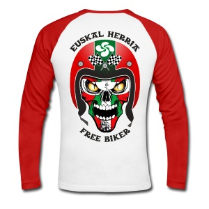 Basque Bikers - T-shirt baseball manches longues Homme