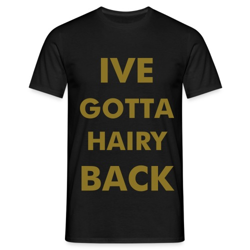 Win! - HairyBack Shirt - Men's T-Shirt