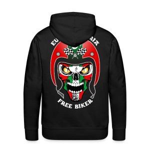Basque Bikers - Sweat-shirt à capuche Premium pour hommes