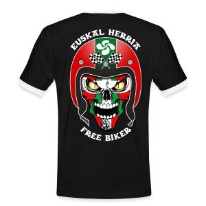 Basque Bikers - T-shirt contrasté Homme