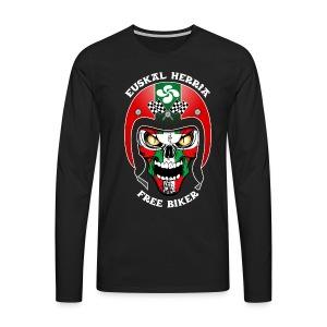 Basque Bikers - T-shirt manches longues Premium Homme