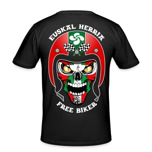 Basque Bikers - Tee shirt près du corps Homme