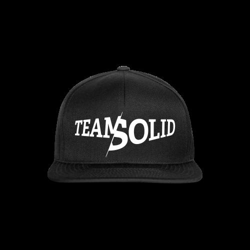 Clean TeamSolid – white - Snapback Cap