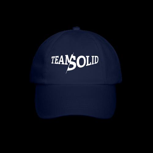 Clean TeamSolid – white - Baseballkappe
