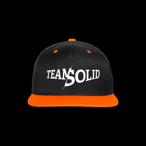 Clean TeamSolid – white - Kontrast Snapback Cap