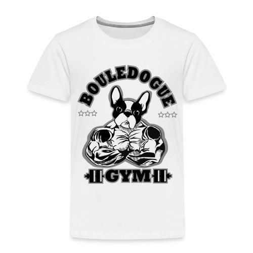 Bouledogue gym - T-shirt Premium Enfant