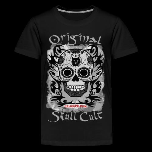 SKULL CULT Teens - Teenager Premium T-Shirt
