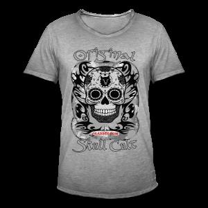 SKULL CULT - Männer Vintage T-Shirt