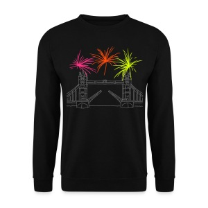 Feuerwerk Silvester in London - Männer Pullover