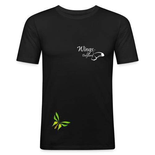 wings by dalgaard  - Herre Slim Fit T-Shirt