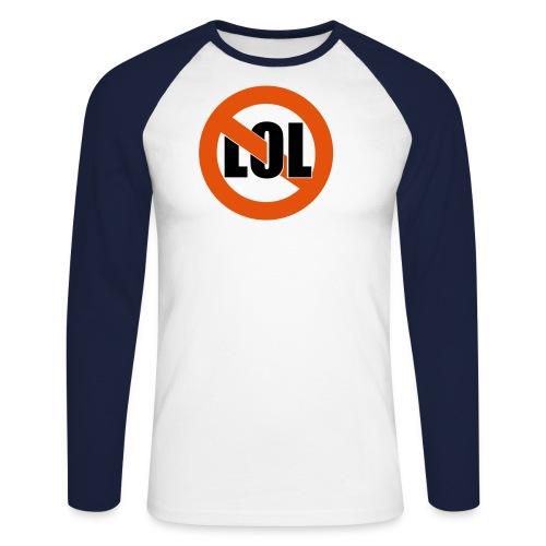 Admin Shirt - Männer Baseballshirt langarm