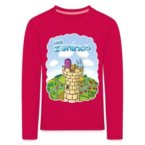 Les Z'aminos - T-shirt manches longues Premium Enfant