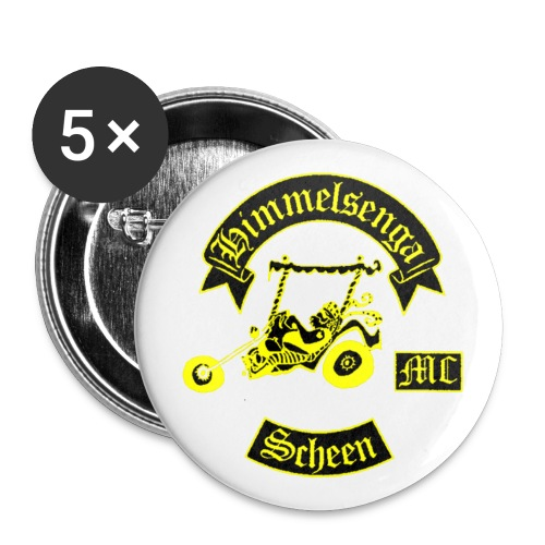 PIN FOR HMCS  - Buttons small 1''/25 mm (5-pack)