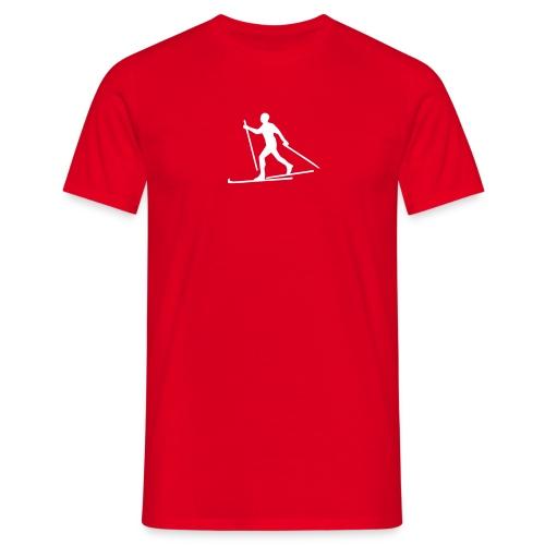 V55 Rød spesial - T-skjorte for menn