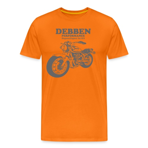 Debben Performance Orange - Men's Premium T-Shirt