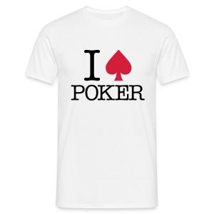 I Love Poker - T-shirt Homme