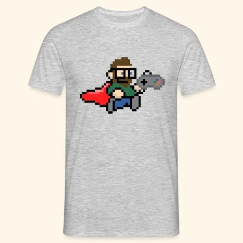 GamerGeek Logo Shirt grau - Männer T-Shirt