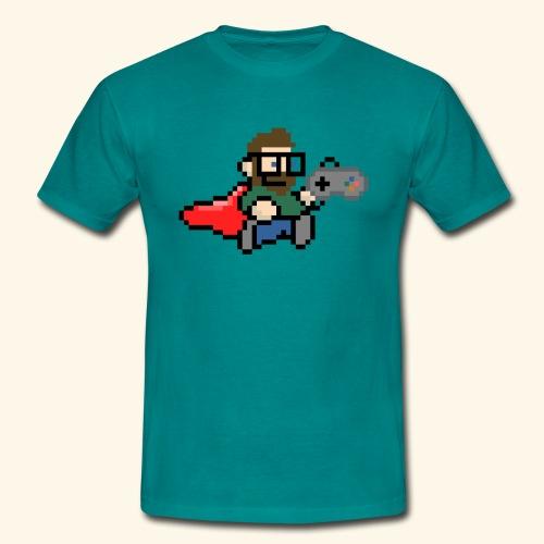 GamerGeek Logo Shirt petrol - Männer T-Shirt