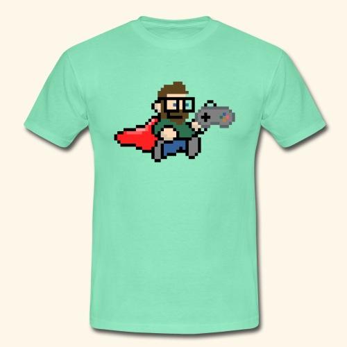 GamerGeek Logo Shirt mintgrün - Männer T-Shirt