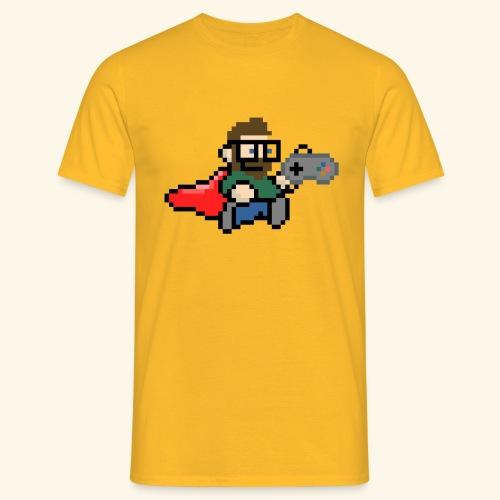 GamerGeek Logo Shirt gelb - Männer T-Shirt