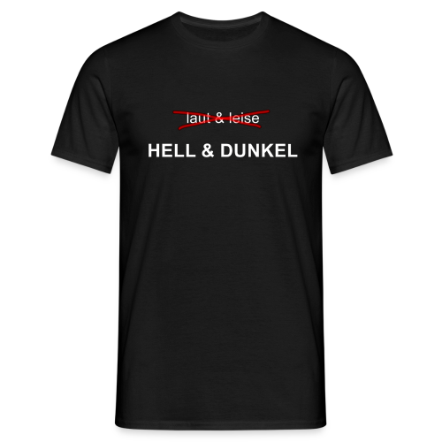 light engineer - hell & dunkel - Männer T-Shirt
