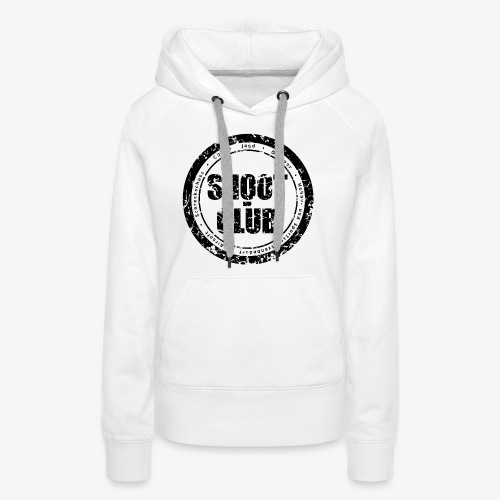 shoot-club - black circle Logo - Frauen Premium Hoodie