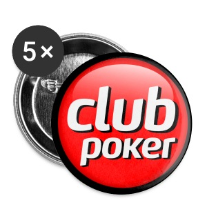 Badges Club Poker - grand modèle - Badge grand 56 mm