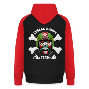 Basque Bikers Team - Sweat-shirt baseball unisexe