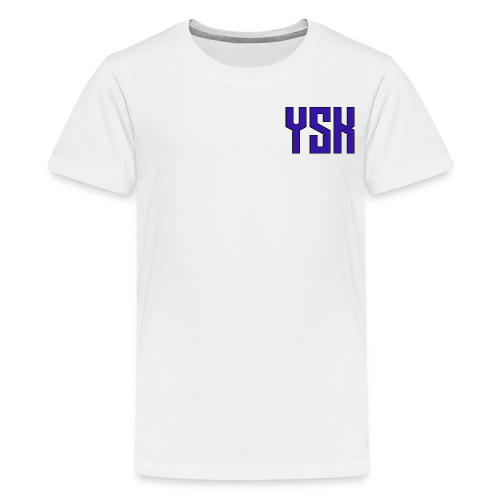 YSK Shirt - Teens - Teenage Premium T-Shirt