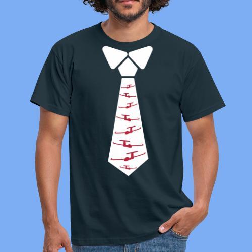 glider pilot  Segelflieger Krawatte Geschenk - Men's T-Shirt