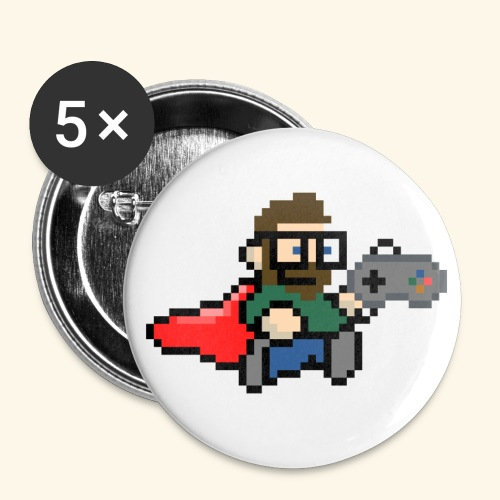 GamerGeek Logo Button - Buttons groß 56 mm