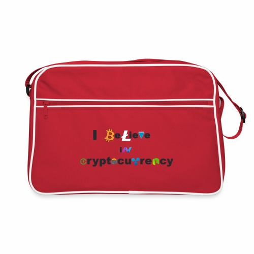 I believe in Cryptocurrency Tasche - Retro Tasche