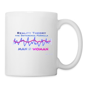 Man @ Woman - Realitäts Theorie - AndreSi Design - Tasse - Tasse