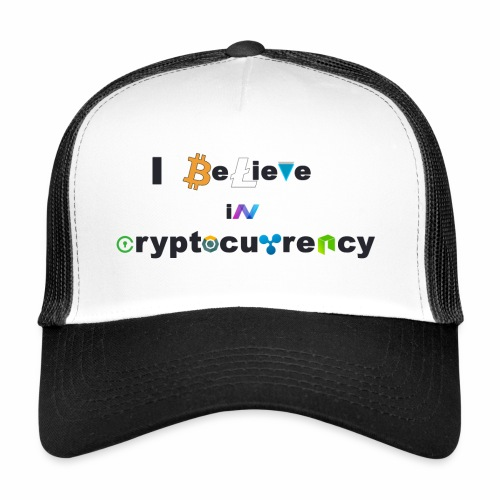 I believe in Cryptocurrency Cap - Trucker Cap