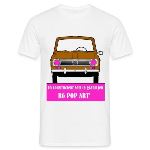 R6 pop art' - T-shirt Homme