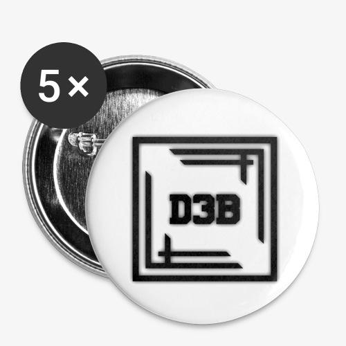 D3B Badge - Badge petit 25 mm