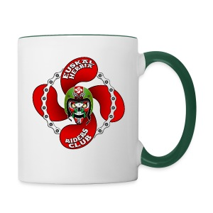 Basque Biker - Tasse bicolore
