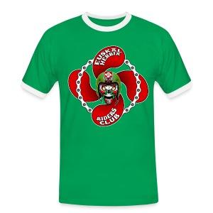 Basque Biker - T-shirt contrasté Homme