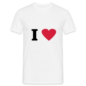 I Love Sex T-shirt - Men's T-Shirt