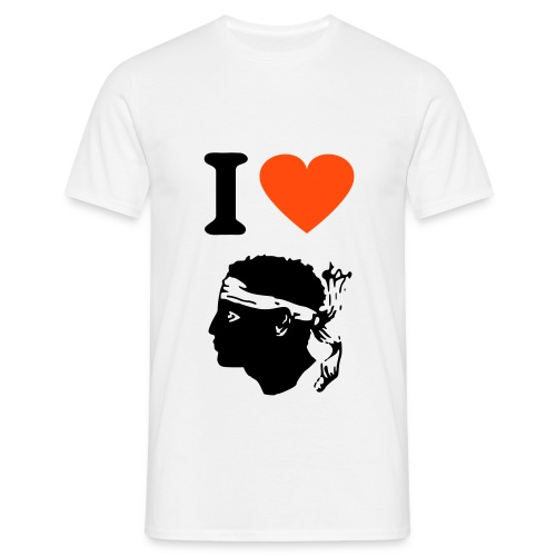 I LOVE CORSICA - T-shirt Homme