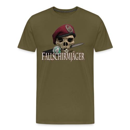 Fallschirmjäger Tkopf - Männer Premium T-Shirt