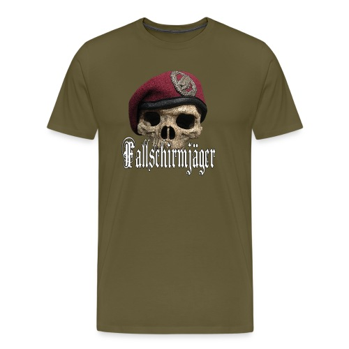 Fallschirmjäger Tkopf 2 - Männer Premium T-Shirt