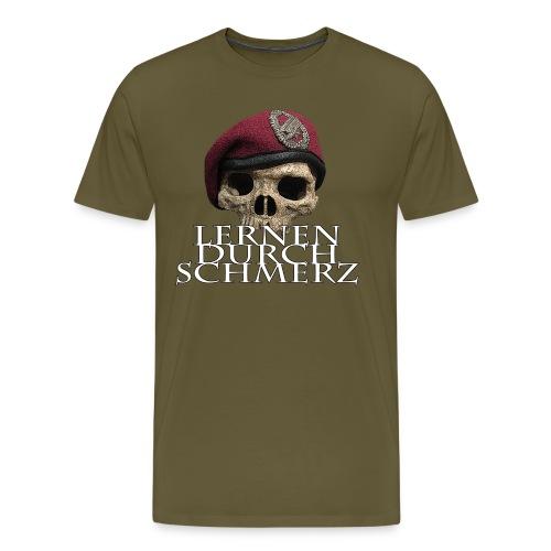 Lernen durch Schmerz - Männer Premium T-Shirt