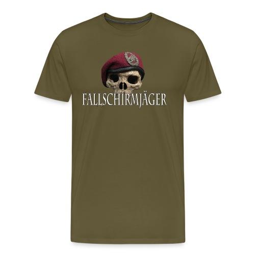 Fallschirmjäger Tkopf 3 - Männer Premium T-Shirt