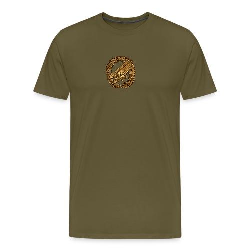 Stürzender Adler Fallschirmjäger - Männer Premium T-Shirt