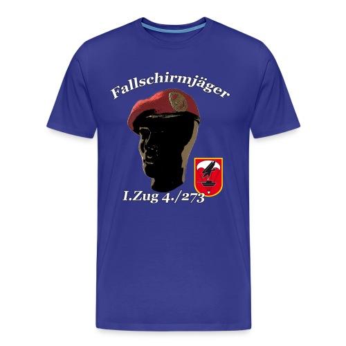 Fallschirmjäger 1.Zug 4./273 - Männer Premium T-Shirt