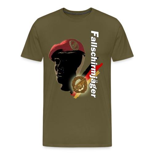 Fallschirmjägerkopf - Männer Premium T-Shirt