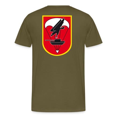Fallschirmjägerbataillon 273 Verbandsabzeichen Rücken - Männer Premium T-Shirt