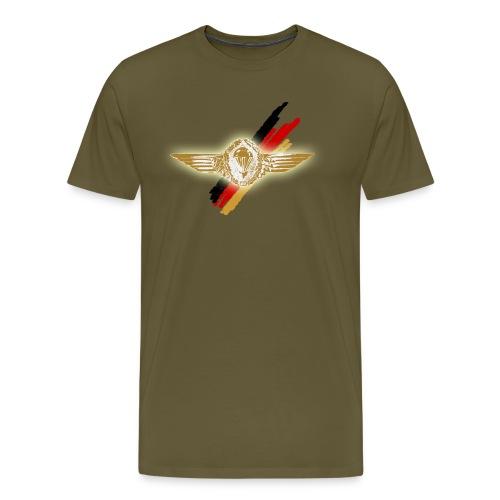 Springerabzeichen Brust - Männer Premium T-Shirt