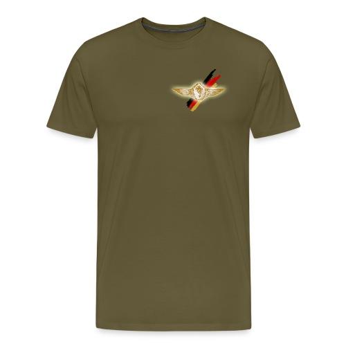 Springerabzeichen Brust l - Männer Premium T-Shirt